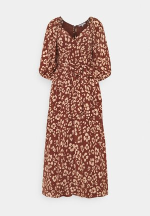 KATHERINE DRESS - Day dress -  mahogony