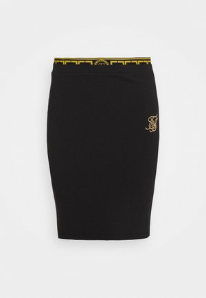 ATHENA TAPE SKIRT - Spódnica mini - black