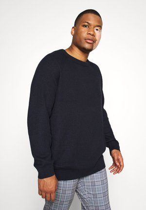 JJPANNEL CREW NECK - Jumper - sky captain