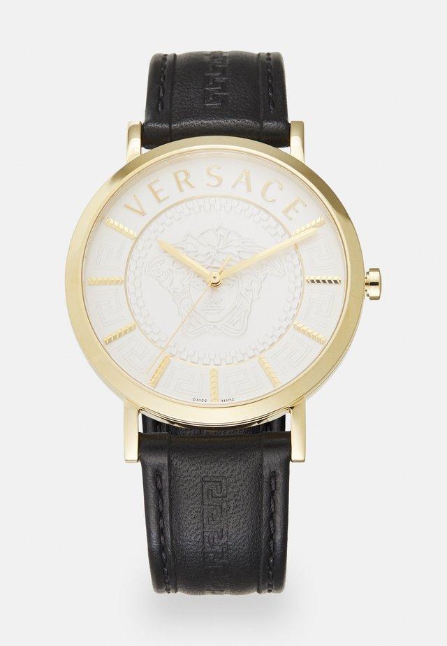ESSENTIAL - Horloge - black/gold-coloured