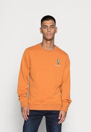 ATHLETICS MINIMIZE CREW - Sweater - orange