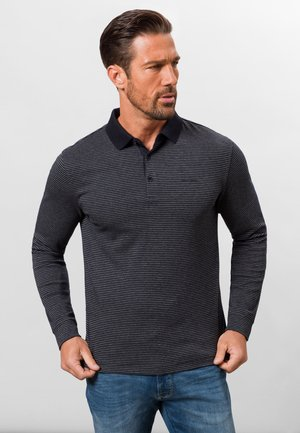 GESTREIFT - Polo shirt - grey