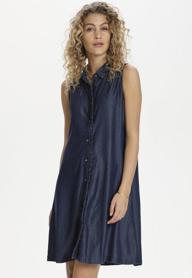 DHCALA - Denim dress - dark blue/ blue wash