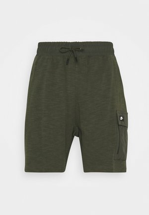 Shorts - khaki/black oxidized