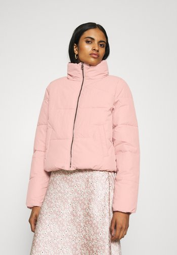 ONLDOLLY SHORT PUFFER JACKET  - Winter jacket - misty rose