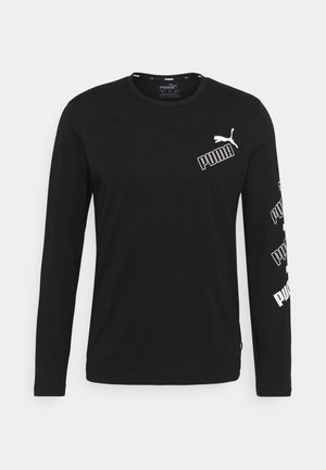 AMPLIFIED TEE - Top sdlouhým rukávem - black