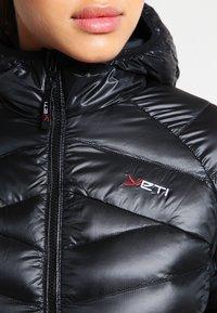 YETI - PEARTH - Down coat - black - 3