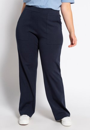 Trousers - dunkles marine
