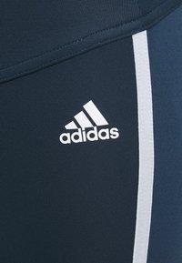 adidas Performance - Leggings - crenav/white - 2