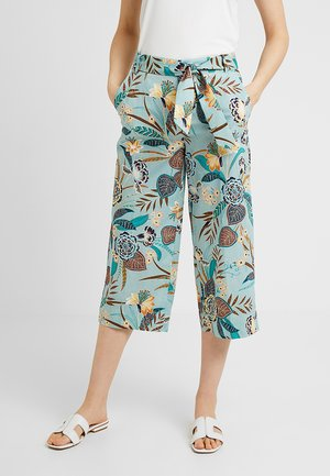 CULOTTE - Bukse - light aqua/green
