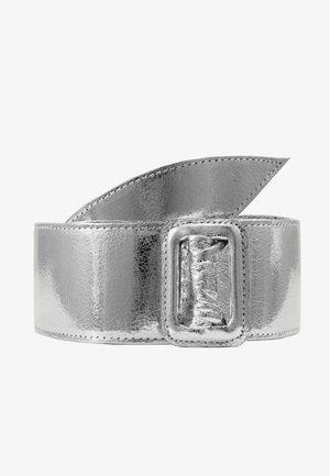 Pásek - silber-metallic