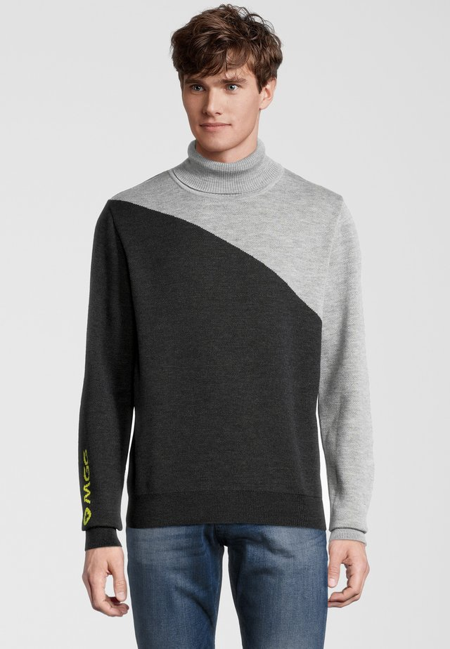 Pullover - dunkelgrau/hellgrau