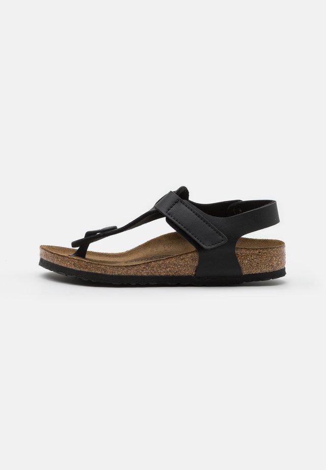 KAIRO UNISEX - Sandály s odděleným palcem - black