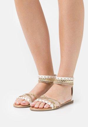 Sandals - medusa bianco/platino