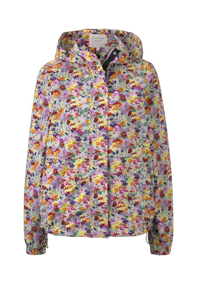 PAPERTOUCH WINDBREAKER - Windbreaker - multicolor flower print