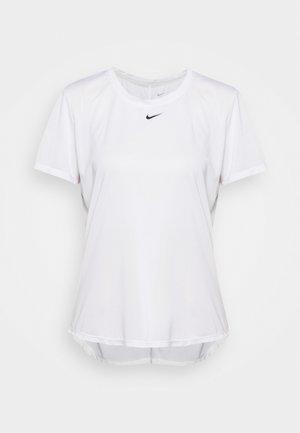 ONE - Jednoduché triko - white/black