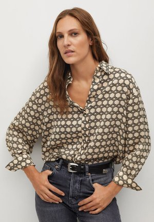 COSMO - Button-down blouse - ecru