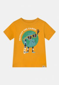 GAP - TODDLER BOY GRAPHIC - Print T-shirt - yellow sundown - 0