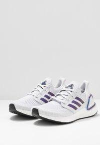 adidas Performance - ULTRABOOST 20  - Zapatillas de running neutras - dash grey/blue violet metallic/core black - 2