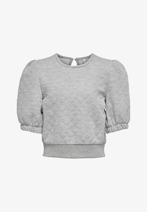 Blouse - light grey melange