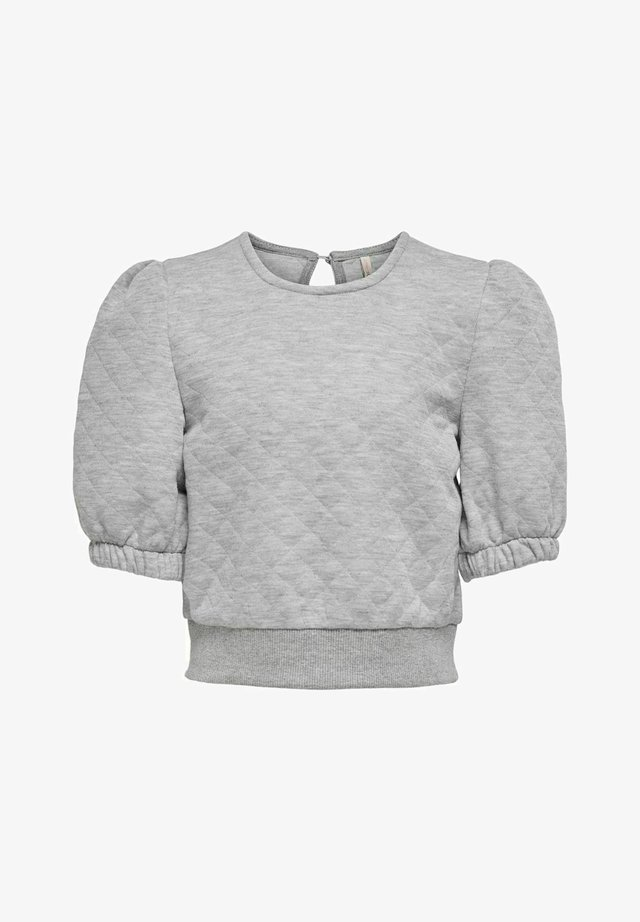 Blus - light grey melange