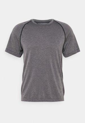 MOTION SEAMLESS CREWE - T-shirt print - midnight navy