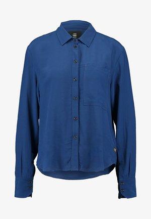 CORE STRAIGHT SHIRT - Skjorte - pacific