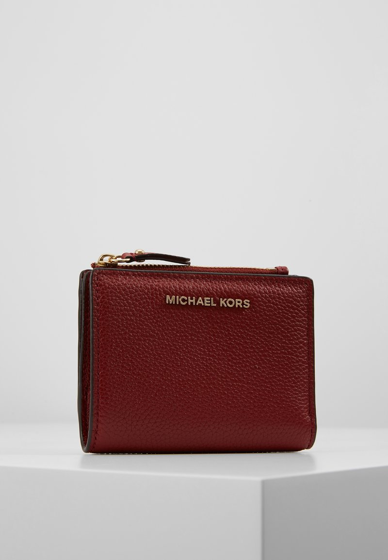 MICHAEL Michael Kors - JET SET SNAP BILLFOLD SMALL - Geldbörse - brandy