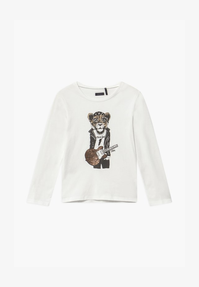 SHINING TIGER - Long sleeved top - blanc cassé
