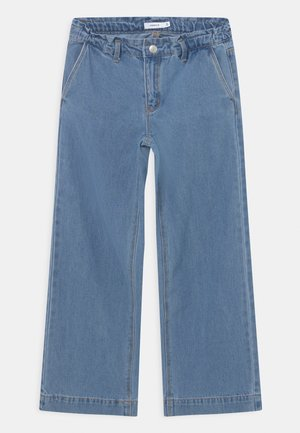 NKFIZZA - Bootcut jeans - blue denim