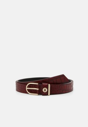 CLASSIC BELT CROCO - Pasek - red