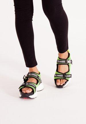 AQUA  - Walking sandals - green