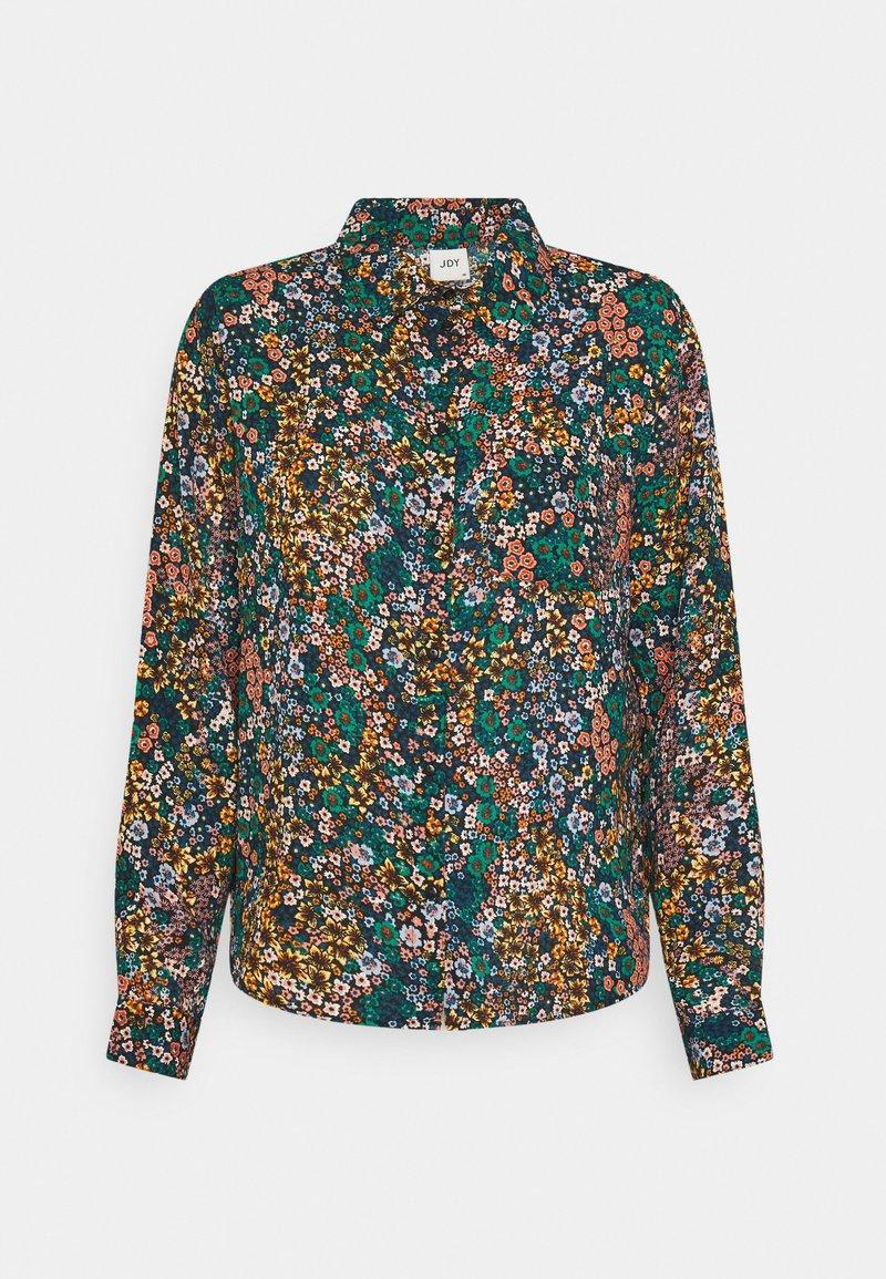 JDY - JDYMIE - Button-down blouse - black/multi color