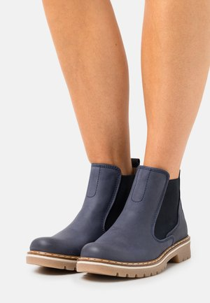 Ankle boots - denim