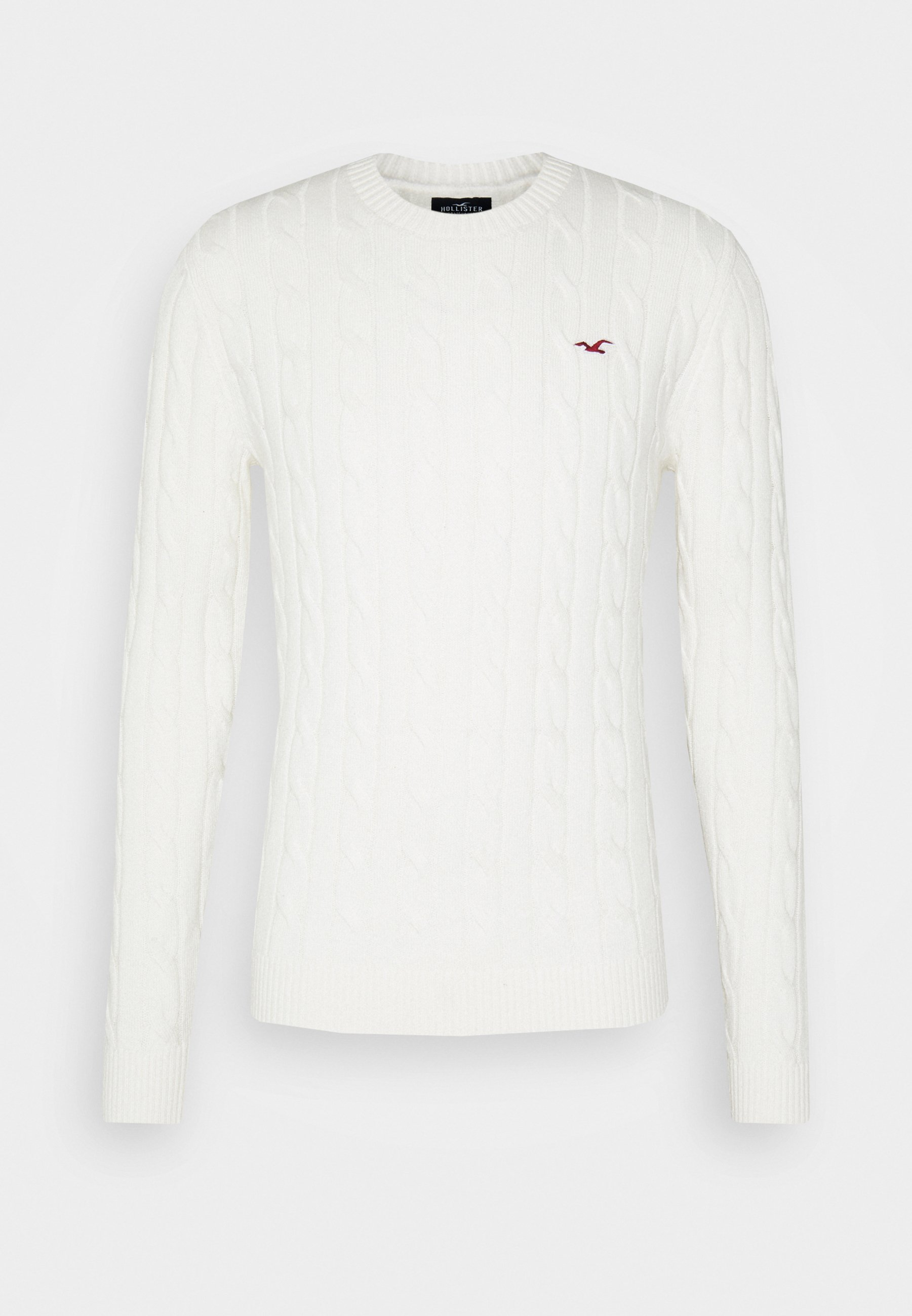 Hollister Co. Strikkegenser - Cream/beige