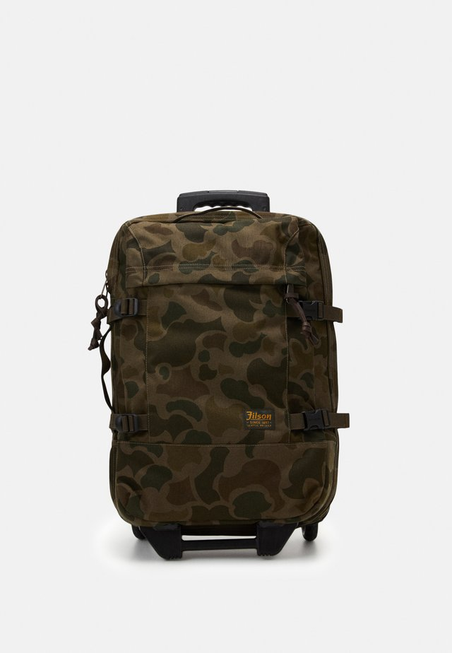 DRYDEN 2 WHEELED CARRY ON BAG - Trillekoffert - mottled olive