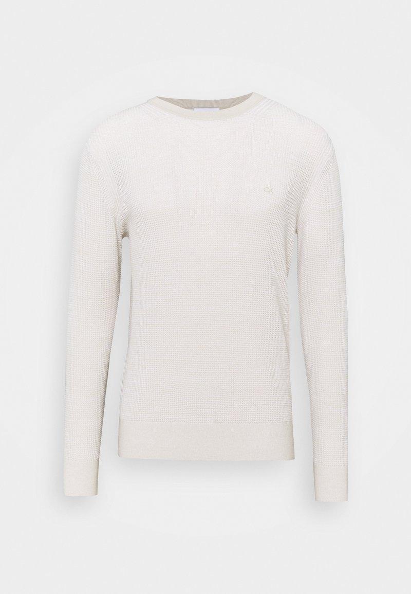 Calvin Klein - TEXTURE  - Jumper - beige