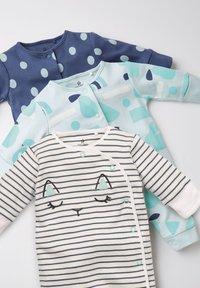 Next - 3 PACK  - Pyjamas - mint - 5