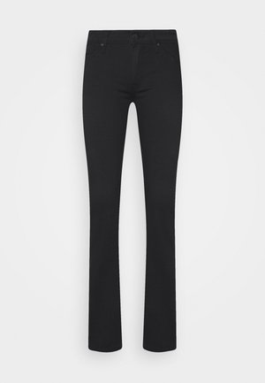 OLIVIA - Jeans straight leg - double black