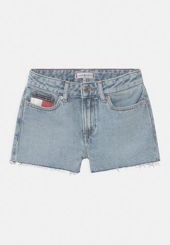 HARPER - Denim shorts - blue denim