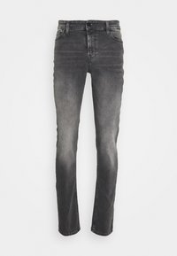 ONSLOOM SLIM ZIP SWEAT GREY  - Slim fit jeans - grey denim
