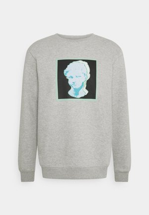 FRONT GRAPHIC UNISEX - Sweatshirt - grey