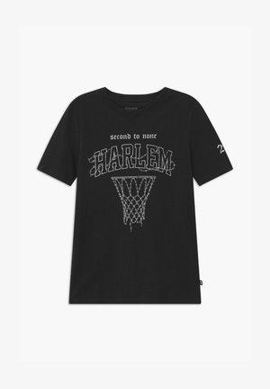 FREE BOYS SKATER - Print T-shirt - black