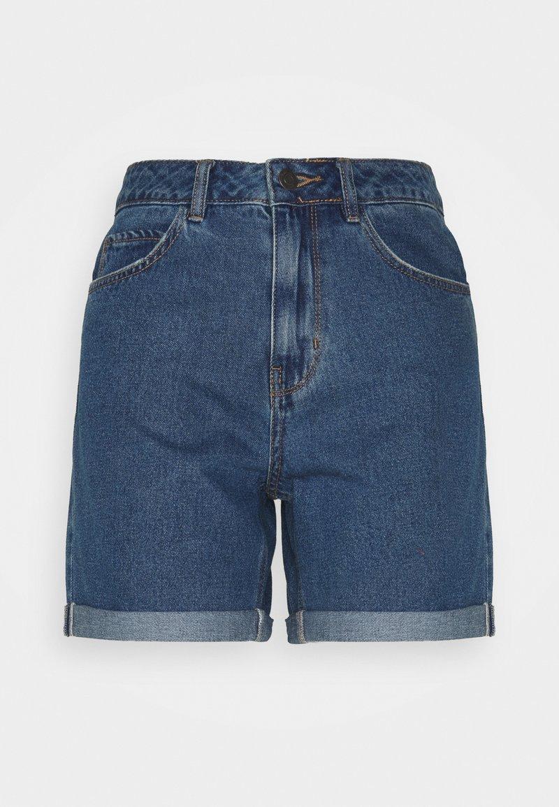 Vero Moda Tall - VMNINETEEN MIX - Shorts di jeans - medium blue denim