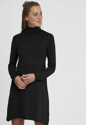 WINALA - Abito in maglia - black