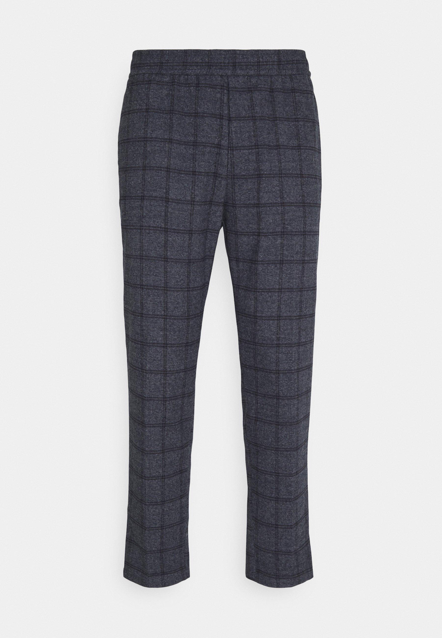 Homme PILOU CHECKED PANT - Pantalon classique