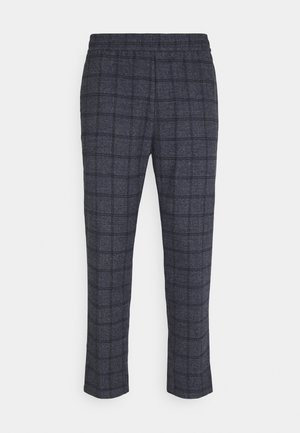 PILOU CHECKED PANT - Trousers - navy blazer