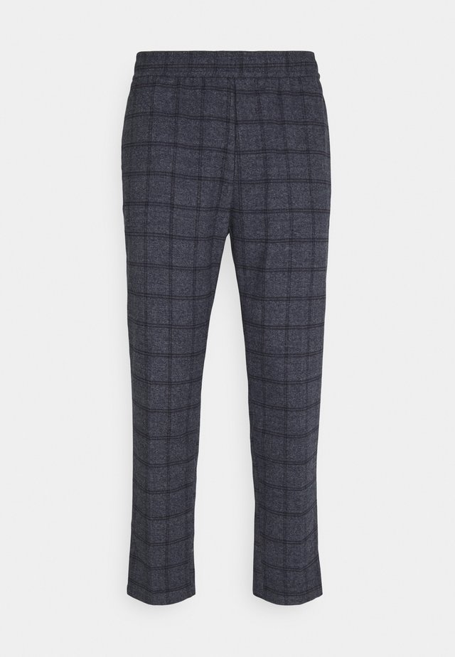 PILOU CHECKED PANT - Kalhoty - navy blazer