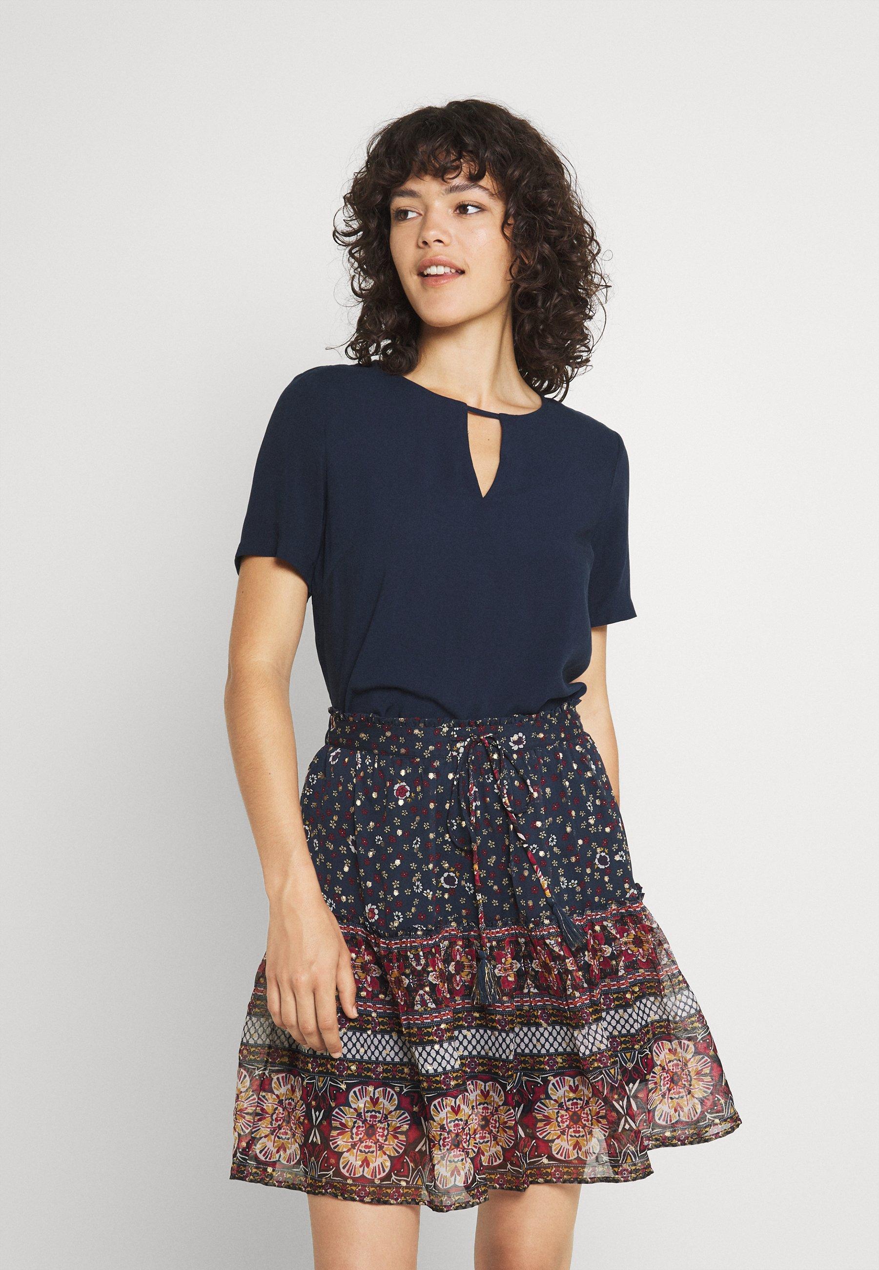 Donna VILANA KEY HOLE - T-shirt basic