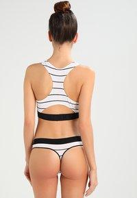DKNY Intimates - SEAMLESS LITEWEAR HIGH NECK - Bustier - white/black - 2